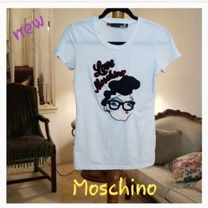 Love Moschino  Embroided Tee